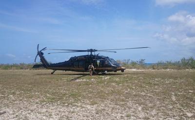 Cae helicóptero militar en México