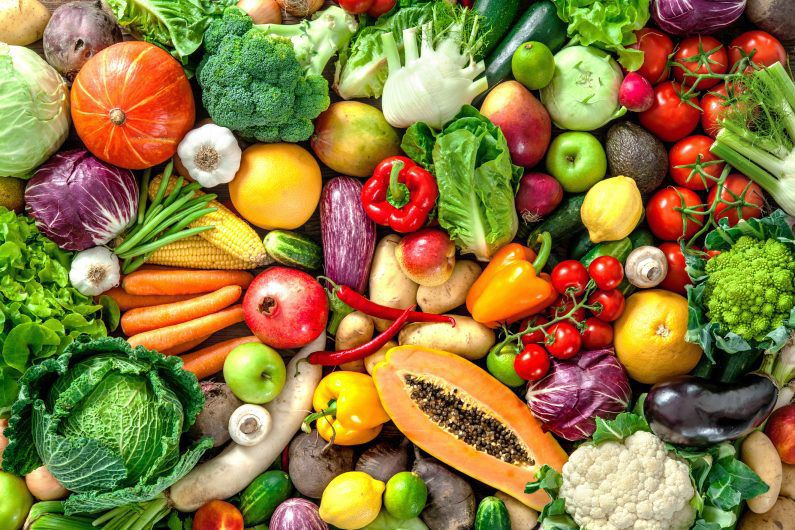 Resultado de imagen para los vegetales y las frutas