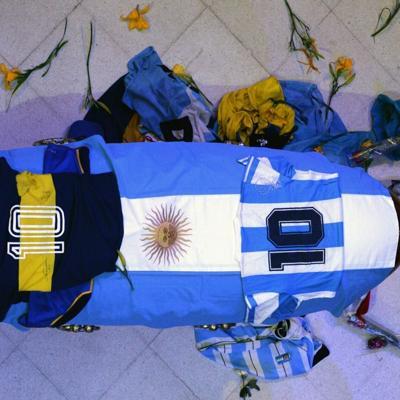 Argentina despide a Maradona