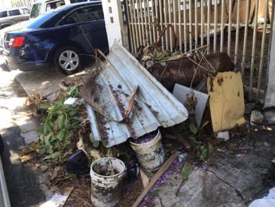 Pesadilla por vivienda abandonada