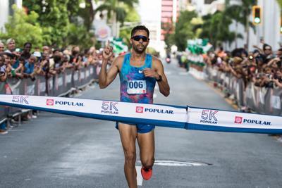 Ricardo Estremera rompe la marca del 5K de Popular