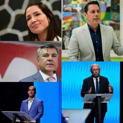 candidatos a la gobernación 2020