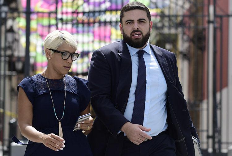 Anthony Maceira ofrece declaraciones tras arrestos