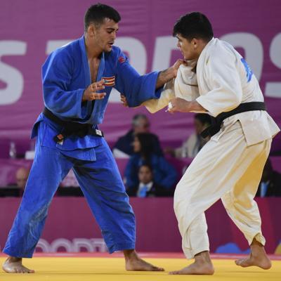 Dura prueba de apertura para el judoca Adrián Gandía
