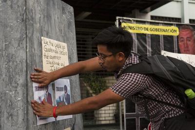 GUATEMALA-EEUU PROTESTA