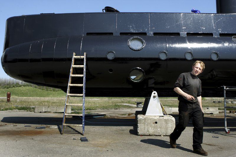 Periodista sueca desaparecida tras un paseo en submarino