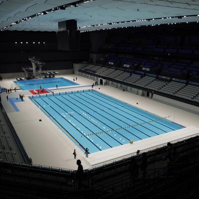 Tokio inaugura el Centro Acuático de los Juegos Olímpicos y Paralímpicos
