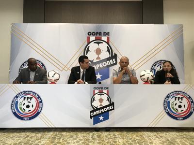 Federación de Fútbol presenta la Copa de Campeones