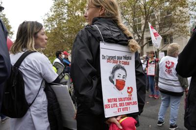 El personal de salud no vacunado en Francia enfrentará sanciones