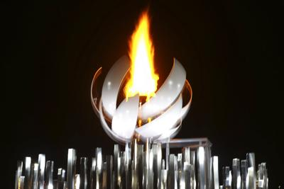 La llama olímpica en Tokio es la primera que arde con hidrógeno