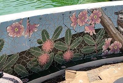 Se embellece Caguas con proyecto de mosaico