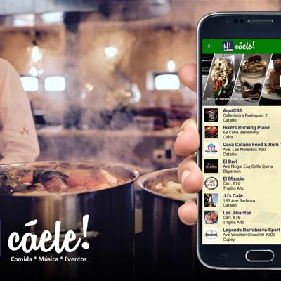 Aplicación otorga cuenta gratis a comercios abierto para delivery