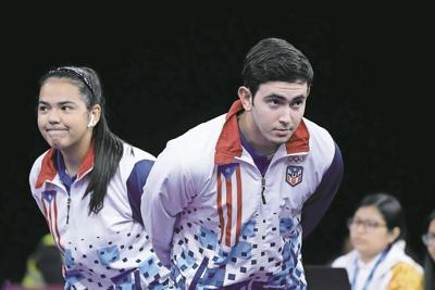 Adriana Díaz y Brian Afanador