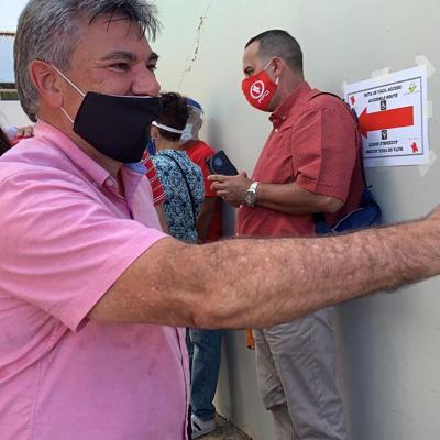 Delgado Altieri insta a votar hoy