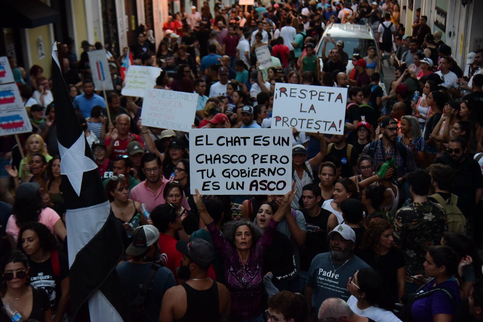 EN VIVO: Cuarto día de protestas en La Fortaleza