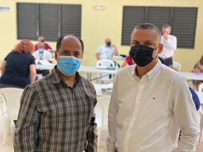 Senador Ruiz Nieves y alcalde de Guánica