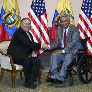 Ecuador y EE.UU estrechan iniciativas contra narcotráfico