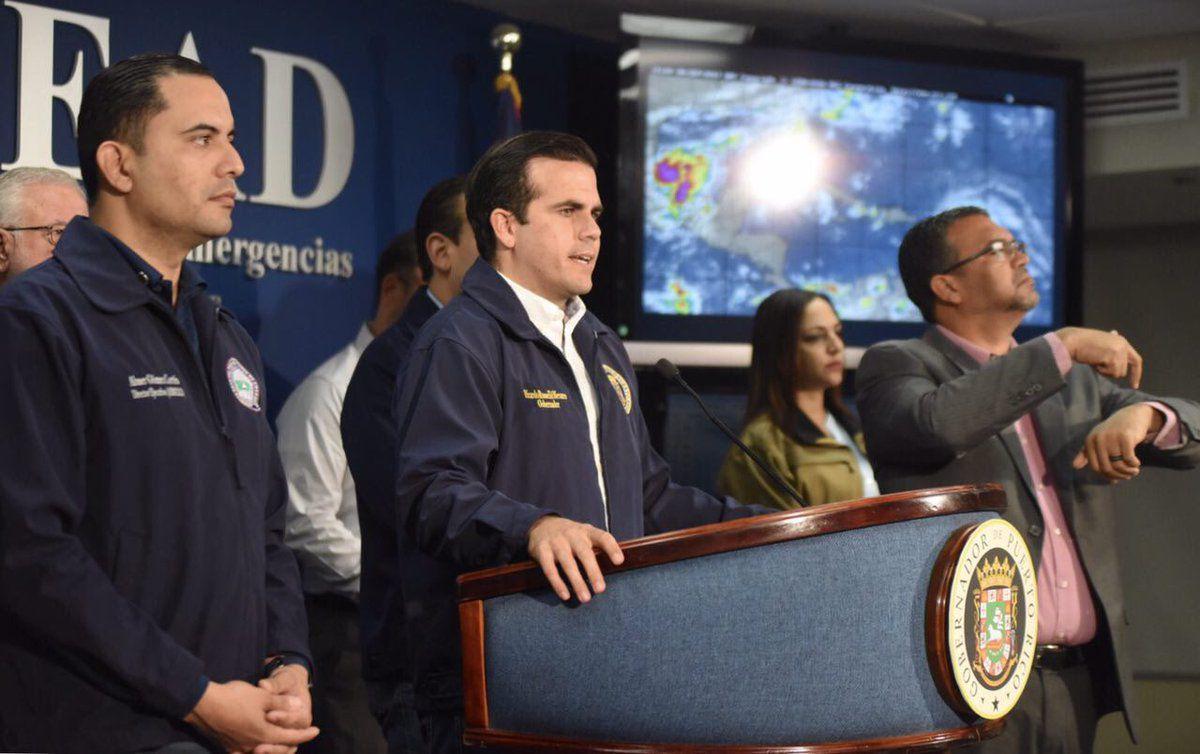 Al menos 300 mil personas se quedaron sin electricidad en Puerto Rico