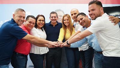 Políticos del PNP comprometen su apoyo a Pierluisi