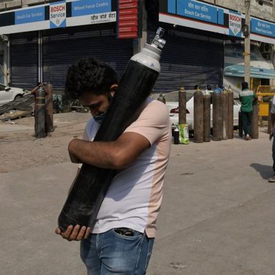 Corte india exige al gobierno un plan para el oxígeno médico