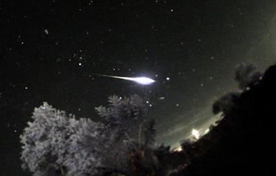 Se espera lluvia de meteoros este viernes