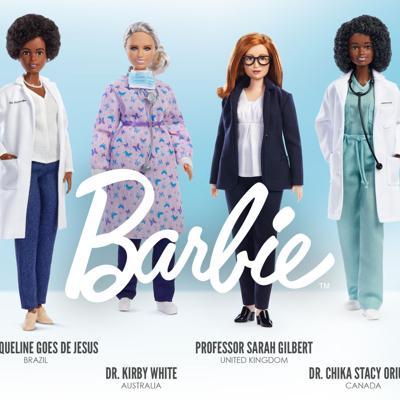 Con una Barbie, Mattel rinde homenaje a las mujeres de primera línea durante la pandemia