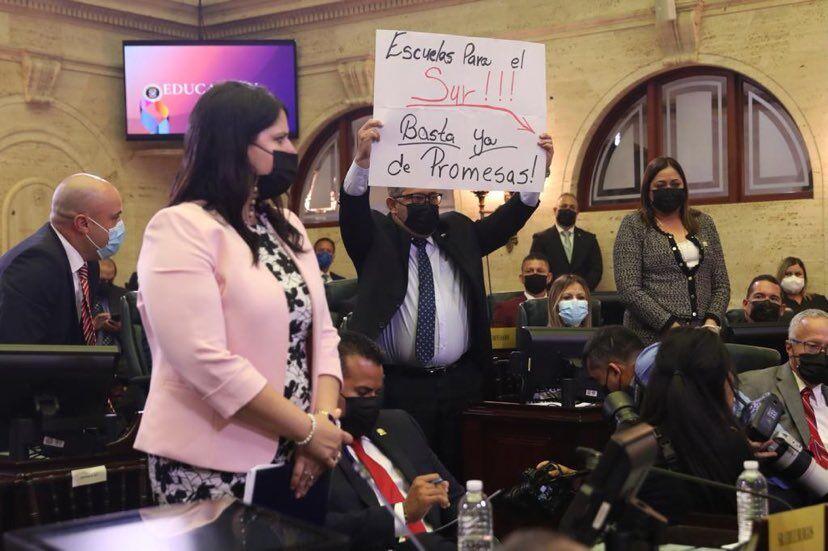 Legisladores del sur