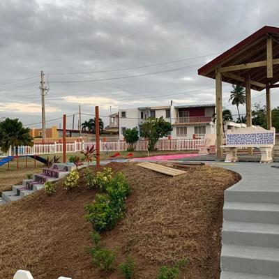 Arecibo inaugura parque para mascotas