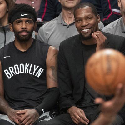 Nets no descartan a Durant e Irving si la NBA reanuda