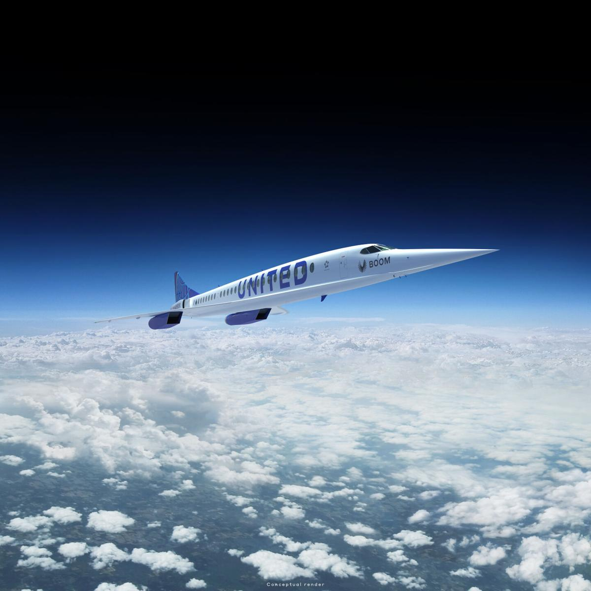 United Airlines Supersonic
