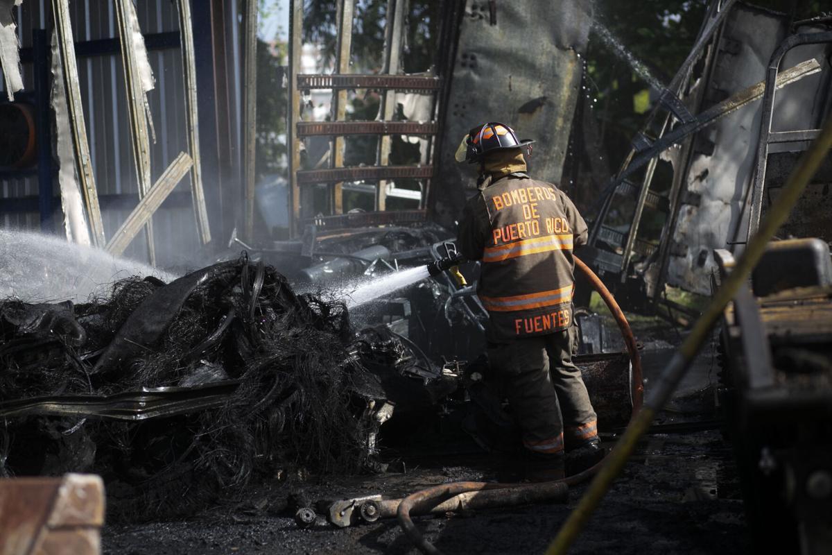 Fuego, Bomberos, Sector Cambute