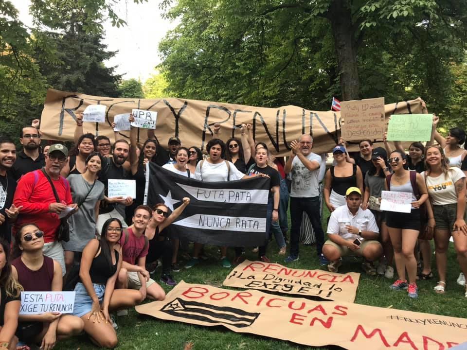 Solidarios en Europa con manifestaciones en la isla
