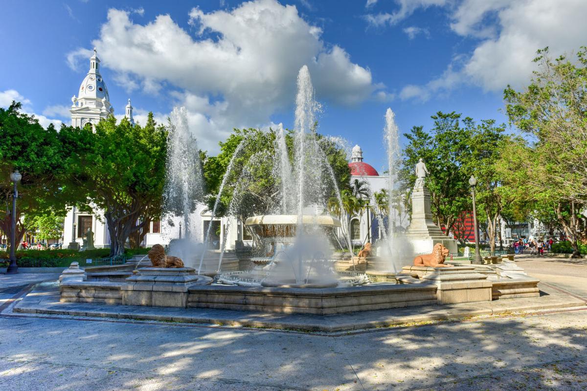 Plaza Las Delicias-Ponce, Puerto Rico