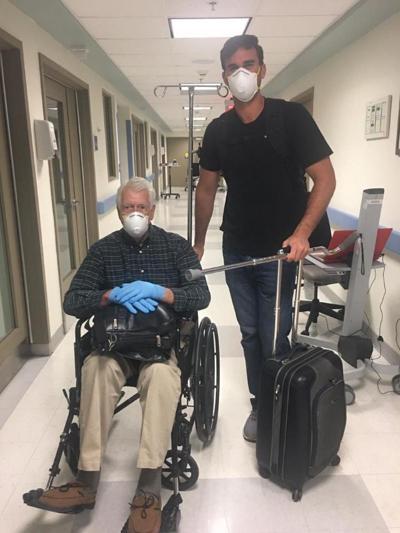 Dan de alta a veterano que tuvo el virus