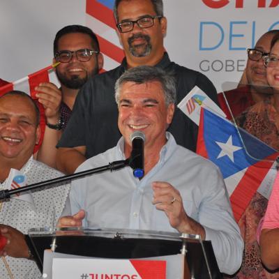 """Carlos """"Charlie"""" Delgado oficializa su candidatura"""