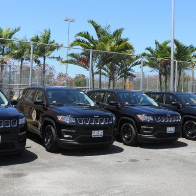 Departamento de Corrección adquiere 37 nuevos autos
