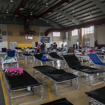 Limitados los refugios en caso de huracán