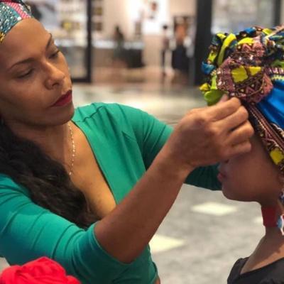 Folklorista loiceña ofrecerá taller de confección de turbantes