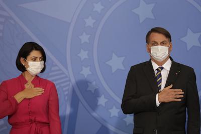 La primera dama de Brasil arroja positivo a coronavirus