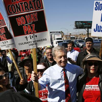 Demócratas evitan tema de inmigración de cara a Nevada