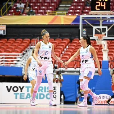 Argentina presenta nuevos casos positivos al covid en el AmeriCup femenino