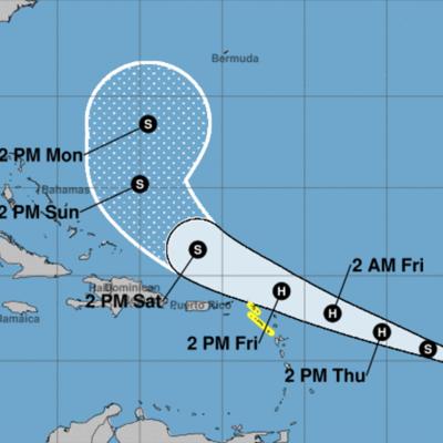 Vigilancia de tormenta tropical para tres islas del Caribe