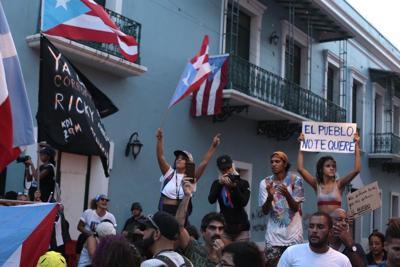 Cuarto día de manifestación