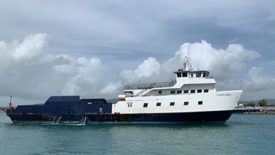 Embarcaciones Isleño y Cayo Largo presentan averías