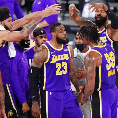 Lakers llegan la final de la NBA