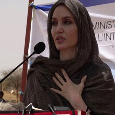 Angelina Jolie visita Burkina Faso como enviada especial de la ONU