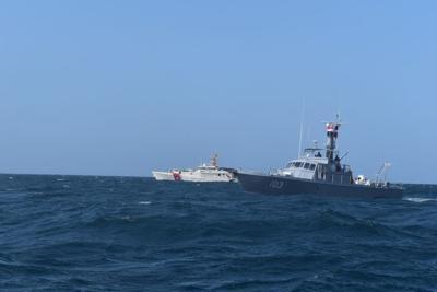 Guardia Costera repatria a inmigrantes frente a costas de Aguada