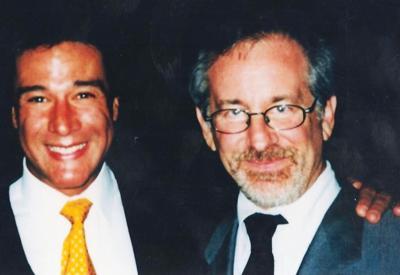 Fernando Allende y Steven Spielberg