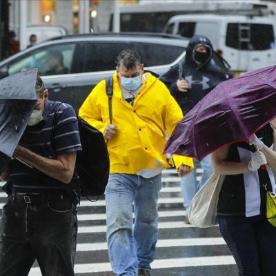 La tormenta tropical Fay toca tierra en Nueva Jersey