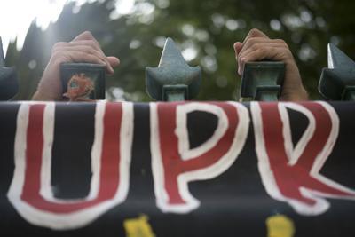 En pie de lucha por la desestimación de cargos contra universitarios